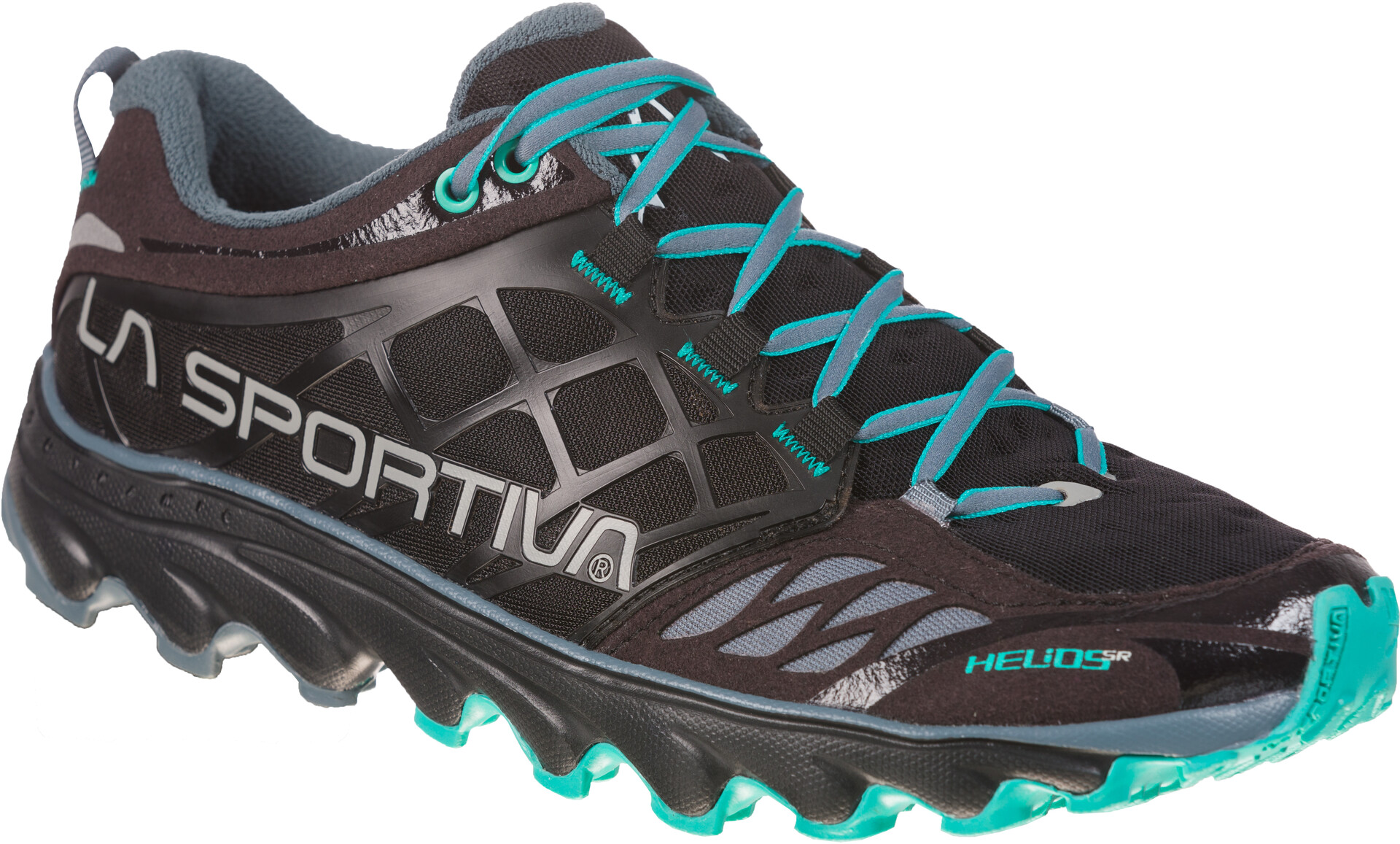 La Sportiva Helios SR Running Shoes Dame blackaqua